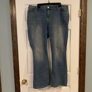 Jennifer Lopez Bootcut Jeans 18 short